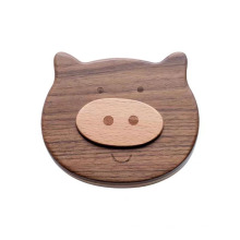 Wooden Kids Baby Tooth Box