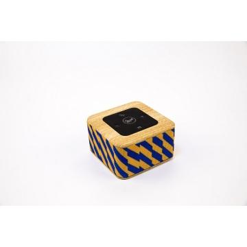 Novo Qi sem fio móvel cobrando alto-falante Bluetooth