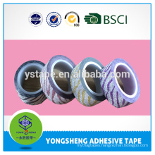High Quality Glitter Tape For Decoration Acrylic Adhesive Holographic self adhesive Tapes