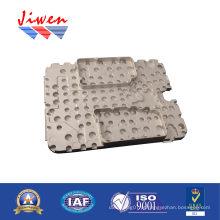 Peças de alumínio personalizadas tampa da placa para dispositivos de comunicação