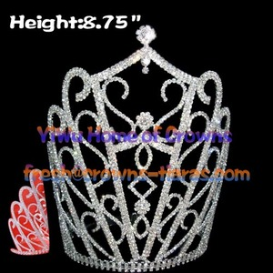 High Quality Crystal Queen Crowns