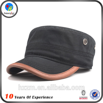 Design Your Own Flat Cap Military Hat for Men