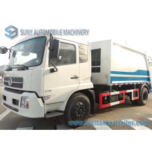Camion à ordures de Dongfeng Tianjin 4 * 2 8000L Compactor