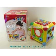 Воспитательная игрушка младенца полная функция кубическая игрушка