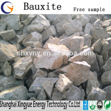 Refractário 60% -88% Al2O3 preço da bauxita competitiva de bauxita calcinada