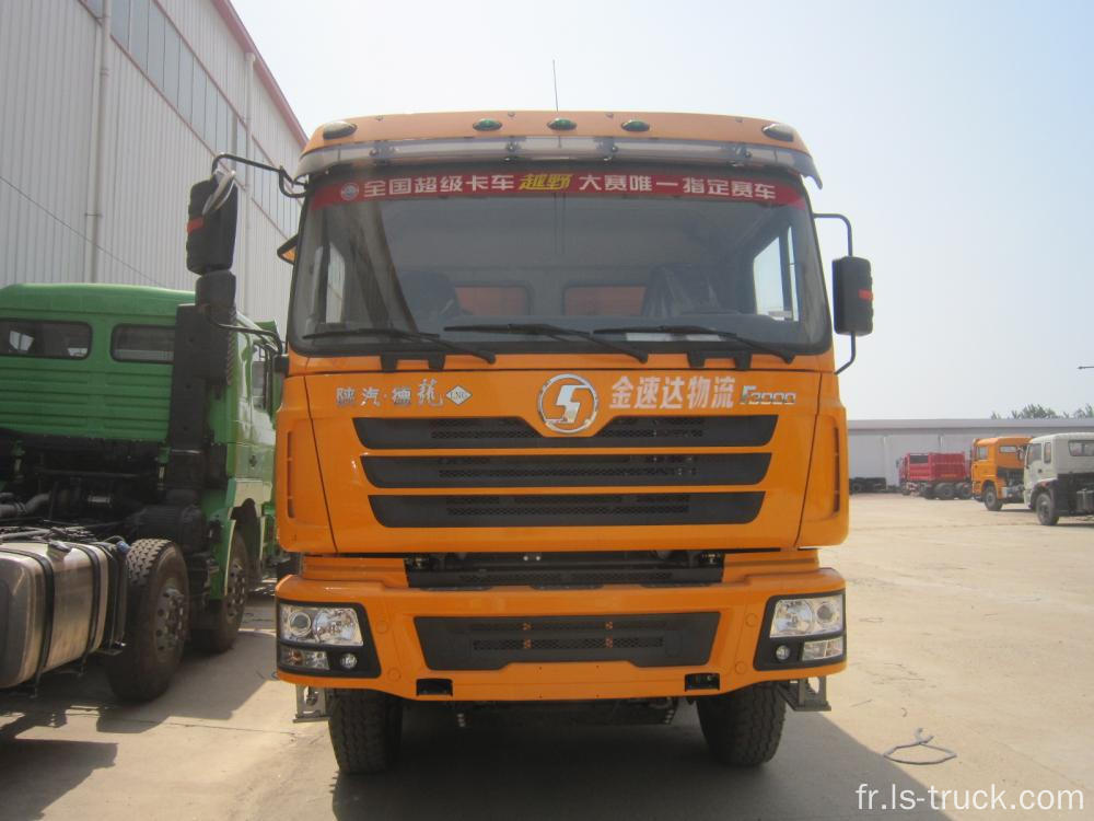 Stock shacman camion benne 8x4 drive 336hp