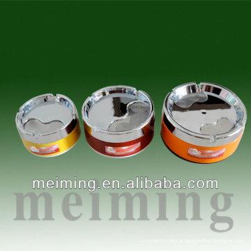 Cinzeiro de aço inoxidável manual de forma redonda barato