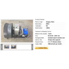 Wholesale 3 Ton Cable Drum Winch with Yamaha Gas Powered Winch