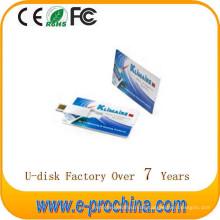Heißer Verkauf Kreditkarte USB Flash Drive USB Flash Pen Drive für kostenlose Probe