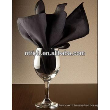 Serviette de table pour le visa polyester haute qualité