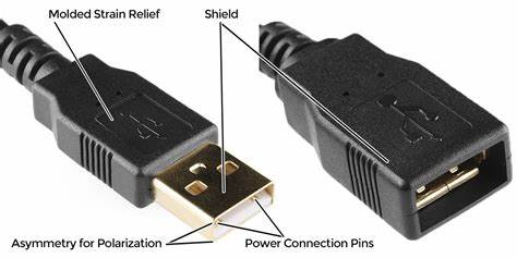 usb connection pins