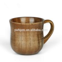 Taza de madera de seguridad natural para venta por mayor