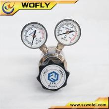 Regulador de presión de gas natural / agua de acero inoxidable