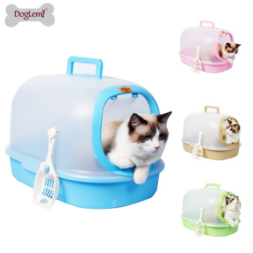 Boîte de litière de chat de matière d'Eco-ami de haute qualité