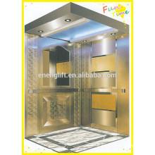 Ascenseur passager mrl en acier inoxydable