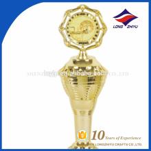Promotion popular basketball award gold trophy