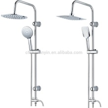 High Pipe Bathroom Overhead Shower Set