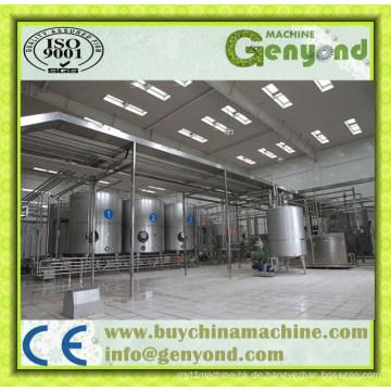 Uht und Pasteurisierte Milchproduktionslinie