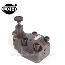 adjust modular 80l/min 24v manual hydraulic valve