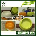 reusable bamboo dog bowl