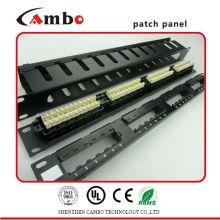 Made in China Лучшая цена модульная патч-панель 24-портовый с крышкой, для экранирующей функции
