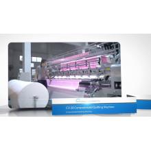 CS128 Computerized Frame Moved Lock Stitch Tröster und Matratze Quilting Machine
