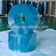 rouleaux de feuille de pvc en plastique transparent