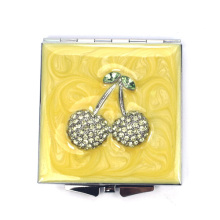 Bling Cherry Compact Mirrors