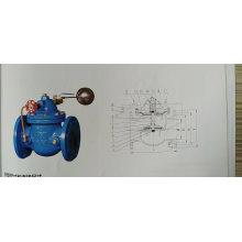 Telecontrol floating ball valve SK-100X
