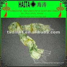 Cubierta de la cabeza de seda