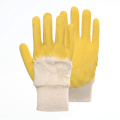 Special Design Anti-slip Stripe Latex Work Gloves