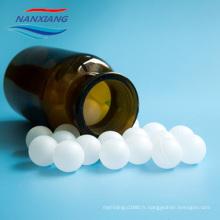 Boule creuse en plastique de 4-55mm pp avec différentes couleurs