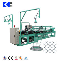 Full automatic land fence making chain link fence machine