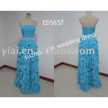 2011 novo Design Leopard Grain Evening Dress ED5657