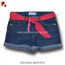 JannyBB design baby girls denim shorts