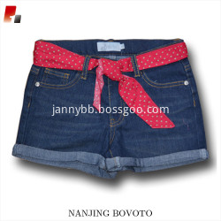 JannyBB design baby girls denim shorts