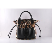 Simple Fashion Print Shopping Tote Handbags in Your Own Requirment (LY060214)