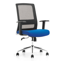 High quality ergonomic office chair with chrome base