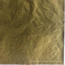 380t 0.25cm Ripstop Nylon Taffeta Fabric with Cired and Black Membrane Printed