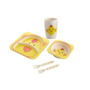 Eco Friendly Bamboo Fiber Children Tableware