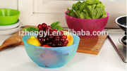 2015 for Home Disposable Plastic Salad Bowl/ Hot sale / High Quality