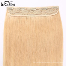 Human Hair 100% Remy Virgin Hair Single Donor One Piece Clip In Hair Extension