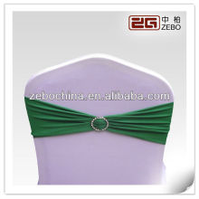 hotel resteraunt wedding Banquet Spandex Chair Cover Bowknot Band
