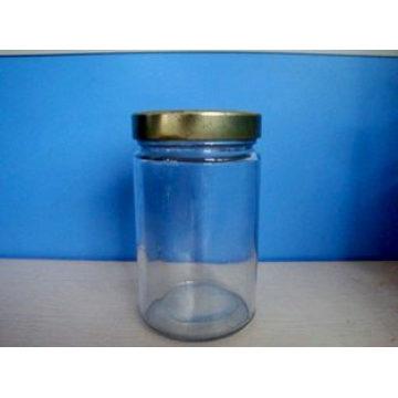 Clear Glass Jar 390ml (DHJ390)