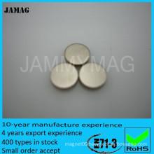 Permanent magnet standard neodymium magnet grade n52