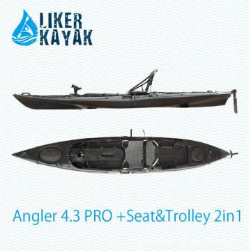 El pescador más caliente 4.3 Sots Fishing Kayaks From Liker