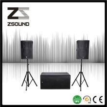 Système de chant de haut-parleur Sonic Rock de Zsound P12 PRO KTV Bar fabriqué par un consultant en design audio professionnel