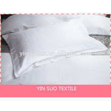 cotton jaquard hotel amenities bed sheet