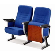 Aluminium Conference Chair with Writing Tablet Awl-05