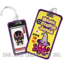 2014 Japan Football Embroidered Luggage Tags